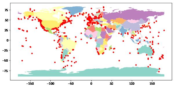 Vector Data Processing using Python Tools: GeoPandas Introduction
